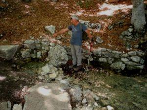 Gamberale, sorgente Santissimo, meglio conosciuto come sorgente laghetto