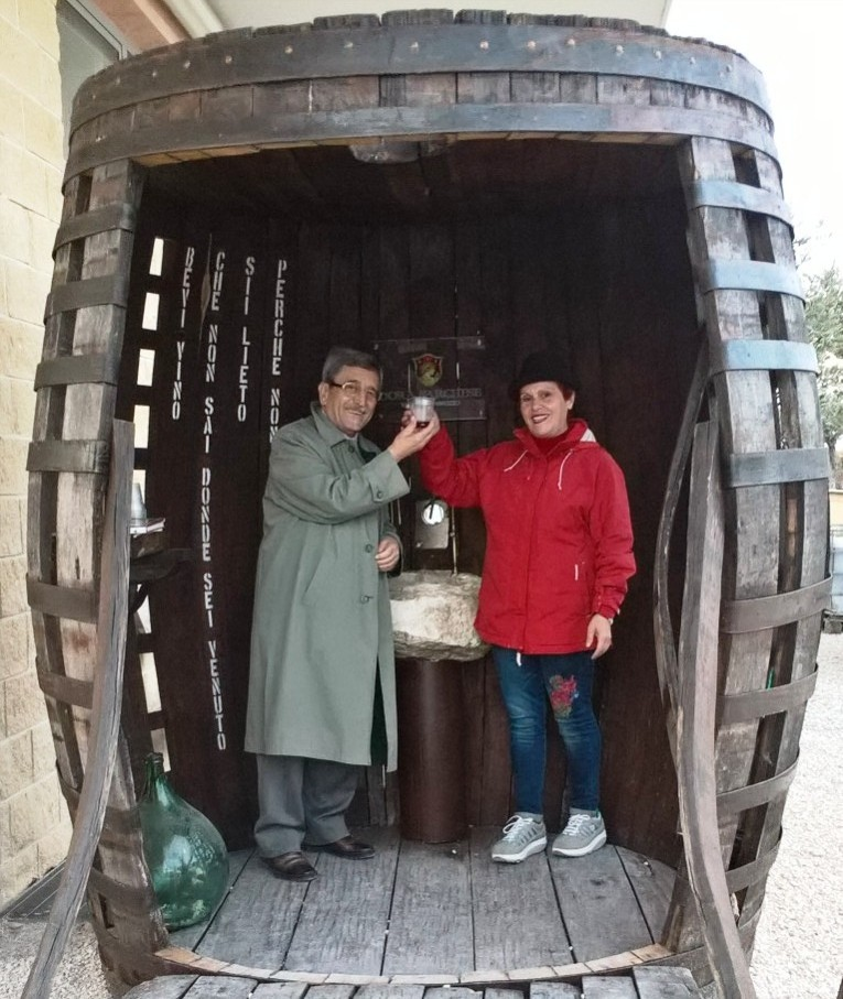 La fontana del vino