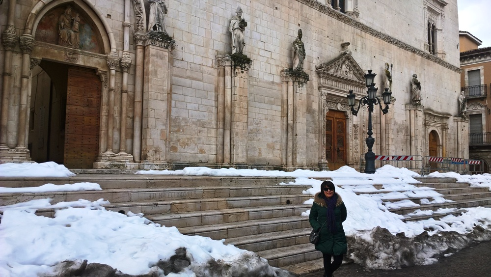 Dialogo con STEFANIA MARCONE, guida turistica di SULMONA